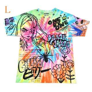 Billie eilish×村上隆×readymade コラボ Tee L(Tシャツ/カットソー(半袖/袖なし))