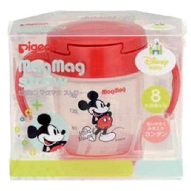 Disney(ディズニー)のピジョン ミッキー マグマグ 新品 キッズ/ベビー/マタニティの授乳/お食事用品(マグカップ)の商品写真