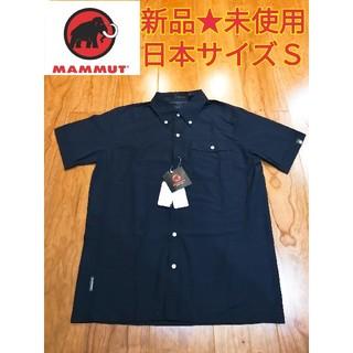 マムート(Mammut)の新品⭐未使用 マムート MAMMUT ボルダーシャツ ショートスリーブ メンズS(登山用品)