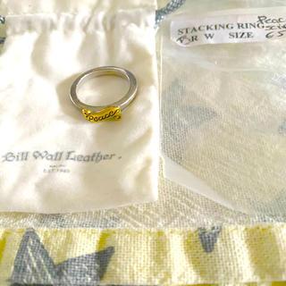 BILLWALL LEATBER 指輪 リング シルバー(リング(指輪))