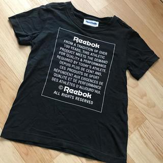 リーボック(Reebok)のReebok リーボック Tシャツ 120 ブラック(Tシャツ/カットソー)