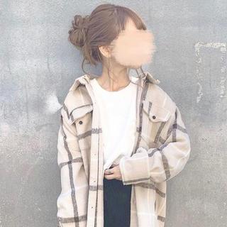 フィフス(fifth)の【fifth】チェックオーバーサイズシャツジャケット(その他)