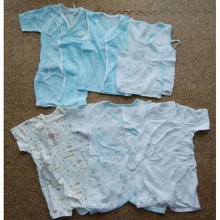 ニシマツヤ(西松屋)の新生児 肌着 カバーオール セット(肌着/下着)