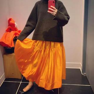 Aki様専用♡ブラミンク BLAMINK スカート シルク(ロングスカート)