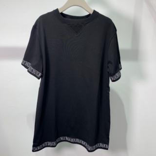ディオール(Dior)のDIOR×STUSSY ロゴ刺しゅう コットン Tシャツ(Tシャツ/カットソー(半袖/袖なし))