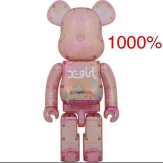 BE@RBRICK X-girl 2020 全新未开封 1000%(その他)