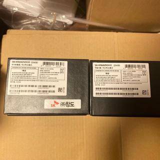ギャラクシー(Galaxy)のgalaxy note 20 ultra 5G 韓国版 未開封 2台(スマートフォン本体)