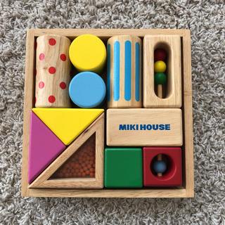 ミキハウス(mikihouse)のミキハウス 木の積木(知育玩具)