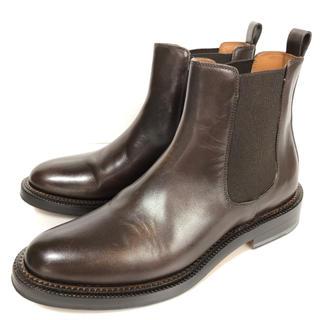 サルトル(SARTORE)の36.5 SARTORE サルトル サイドゴア ショートブーツ ダークブラウン(ブーツ)