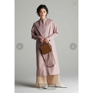 ヤエカ(YAECA)の完売カラー koe コエ バンドカラーシャツワンピース(ひざ丈ワンピース)