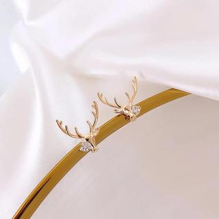 スリーワンフィリップリム(3.1 Phillip Lim)のGold Reindeer ピアス【2点のみ】(ピアス)