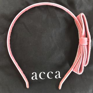 acca - とっても可愛い❣️accaアッカ ピンクリボン カチューシャ