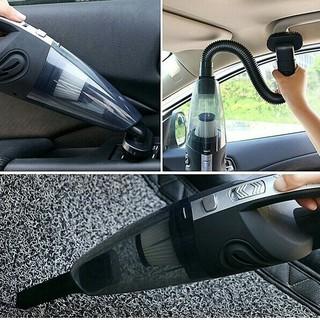 ハンディクリーナー 掃除機 コードレス 120W 車用 家庭用 サイクロン 強吸(掃除機)