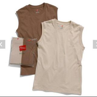 アダムエロぺ(Adam et Rope')の新品 【HanesforBIOTOP】SleevelessT-Shirts 別注(Tシャツ(半袖/袖なし))