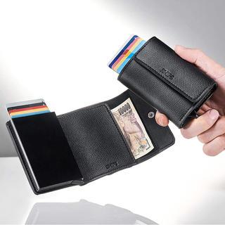 シップス(SHIPS)のモノマスター 9月号付録  SHIPS カードホルダー付き財布(折り財布)