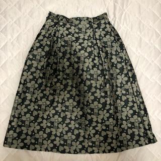 ドットアンドストライプスチャイルドウーマン(Dot&Stripes CHILDWOMAN)のDot&stripes ジャガードスカート(ひざ丈スカート)