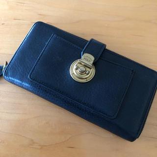 ポロラルフローレン(POLO RALPH LAUREN)の【POLO】黒の長財布(財布)