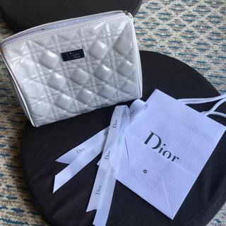 ディオール(Dior)のDIORポーチ ノベルティー ショップ袋リボン(ノベルティグッズ)