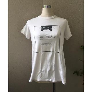 ダブルスタンダードクロージング(DOUBLE STANDARD CLOTHING)のダブルスタンダード猫ちゃんTシャツakm(Tシャツ(半袖/袖なし))