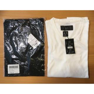 ダブルジェーケー(wjk)のwjk 1mile/半袖VネックTシャツ白黒2枚セット(Tシャツ/カットソー(半袖/袖なし))