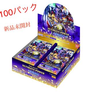 デジモン カードゲーム ブースター  未開封100パック