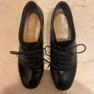 アシナガオジサン(あしながおじさん)のあしながおじさん エナメルシューズ(ローファー/革靴)