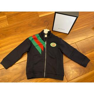 グッチ(Gucci)の⭐︎GUCCI チルドレン 104 新品タグ付き スウェット ブルゾン(Tシャツ/カットソー)