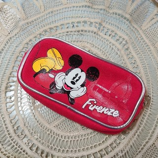 ディズニー(Disney)の昭和レトロ ミッキーマウス ポーチ 筆箱(ポーチ)
