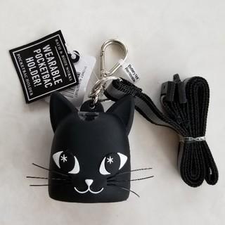 バスアンドボディーワークス(Bath & Body Works)のバスアンドボディワークス BLACK CAT LANYARDホルダー(キーホルダー)