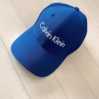 カルバンクライン(Calvin Klein)のCalvin Klein キャップ 帽子 ネイビー(キャップ)