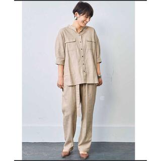 フェリシモ(FELISSIMO)のMEDE19F涼しいシャツ(シャツ/ブラウス(半袖/袖なし))