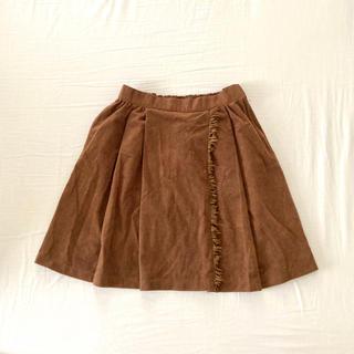 ハニーズ(HONEYS)の150cm 古着 ベロアスカート(スカート)