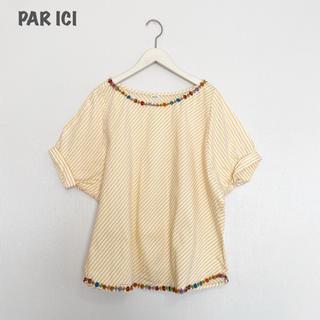パーリッシィ(PAR ICI)の【PAR ICI】ストライプブラウス パーリッシィ(シャツ/ブラウス(半袖/袖なし))