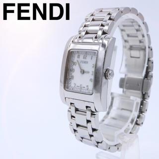 フェンディ(FENDI)の人気【付属品】FENDI 7000L オロロジ スクエア レディース ホワイト(腕時計)