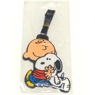 スヌーピー(SNOOPY)のキャラクター ラゲッジタグ ネームタグ かばん バッグ スーツケース(旅行用品)