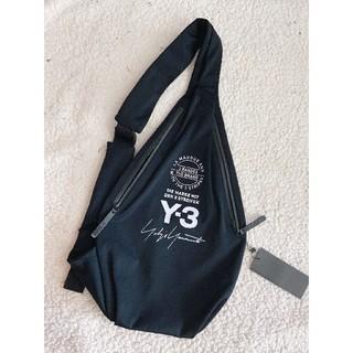 ワイスリー(Y-3)のy-3ヨージヤマモト ウエストバッグ ブラック 鞄 多機能 斜めがけバッグ(ショルダーバッグ)
