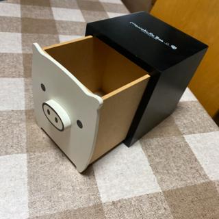 サンエックス(サンエックス)のMonokuro Boo 収納box 収納ケース(小物入れ)