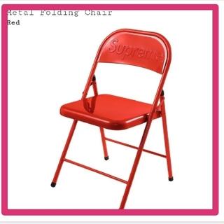 シュプリーム(Supreme)のMetal Folding Chair supreme red 赤(折り畳みイス)