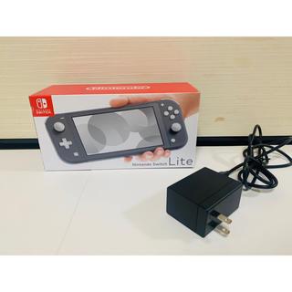 ニンテンドースイッチ(Nintendo Switch)のニンテンドースイッチライト 保護フィルム+SDカード付き(家庭用ゲーム機本体)