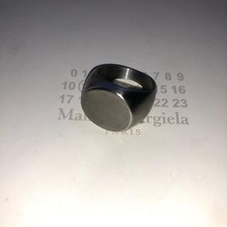 マルタンマルジェラ(Maison Martin Margiela)のオーバルリング 艶消し 14号(リング(指輪))