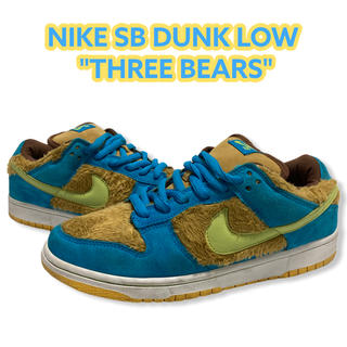 ナイキ(NIKE)のNIKE SB DUNK LOW SB THREE BEARS 28 ダンク(スニーカー)