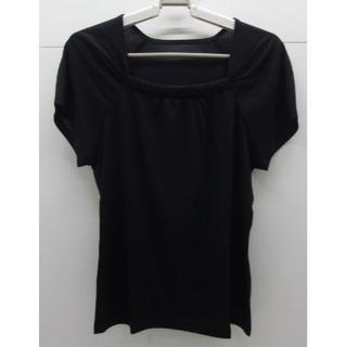 シャルレ(シャルレ)の*1239・シャルレ ラグランスリーブ ブラック サイズ4 未使用品(カットソー(半袖/袖なし))