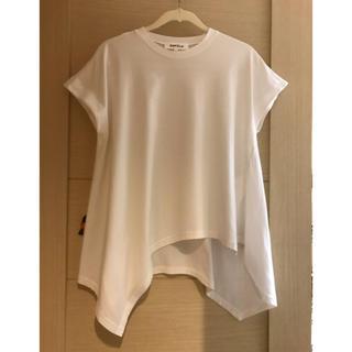 エンフォルド(ENFOLD)のENFOLD 白Tシャツ(Tシャツ(半袖/袖なし))