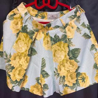 グレースコンチネンタル(GRACE CONTINENTAL)のグレースコンチネンタルgracecontinental花柄ショートパンツrady(ショートパンツ)