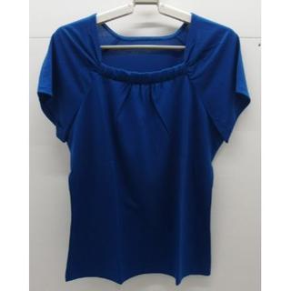 シャルレ(シャルレ)の*1244・シャルレ ラグランスリーブ ロイヤルブルー サイズ4 未使用品(カットソー(半袖/袖なし))