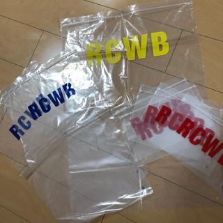 ロデオクラウンズワイドボウル(RODEO CROWNS WIDE BOWL)のロデオクラウンズワイドボウル ショップ袋 ジップロック(ショップ袋)