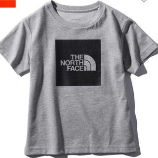 ザノースフェイス(THE NORTH FACE)の新品 ノースフェイス トップス Tシャツ 80 グレー キッズ プレゼント(Tシャツ)
