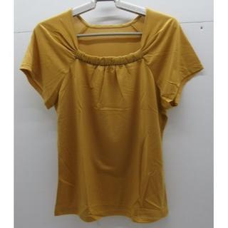 シャルレ(シャルレ)の*1247・シャルレ ラグランスリーブ ライトゴールド サイズ4 未使用品(カットソー(半袖/袖なし))