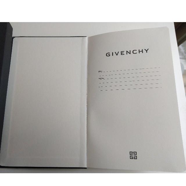GIVENCHY(ジバンシィ)のGIVENCHY ノートブック インテリア/住まい/日用品の文房具(ノート/メモ帳/ふせん)の商品写真