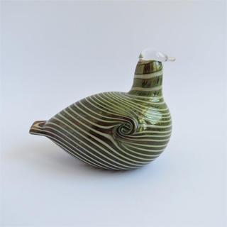 イッタラ(iittala)のiittala イッタラ バード 鳥 グリーン 1970s(置物)